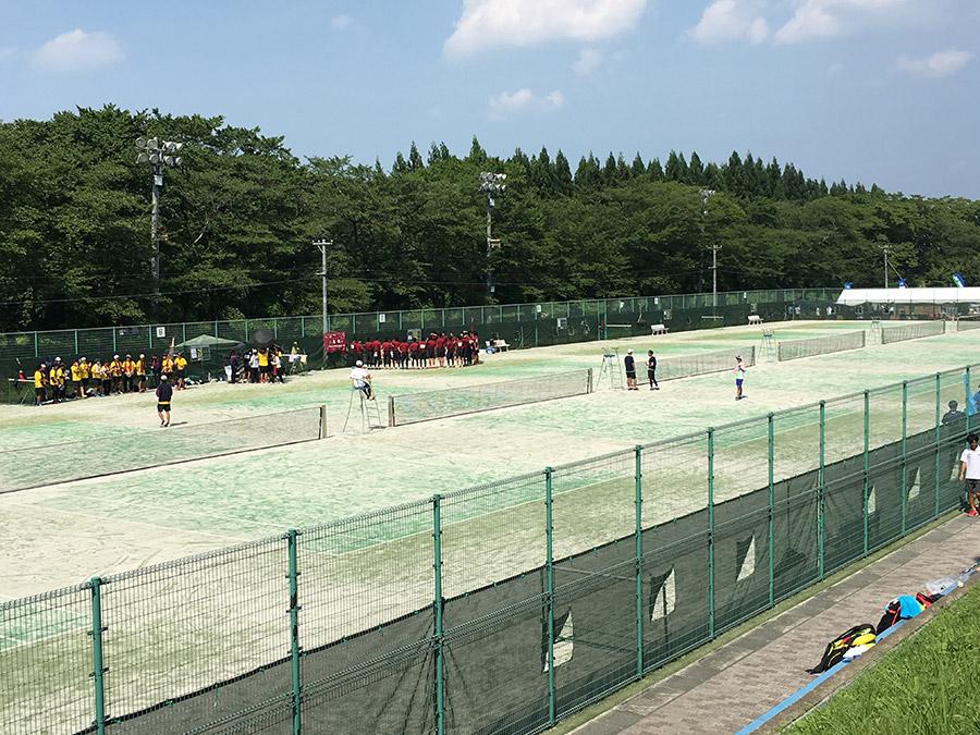 全日本学生ソフトテニス大会 盛岡市・北上市で実施