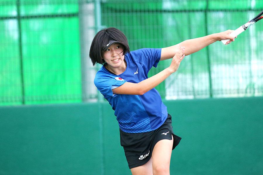 世界ソフトテニス選手権 高橋乃綾選手出場
