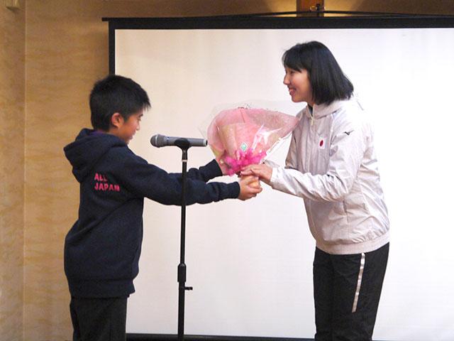 高橋乃綾選手の世界選手権祝勝会