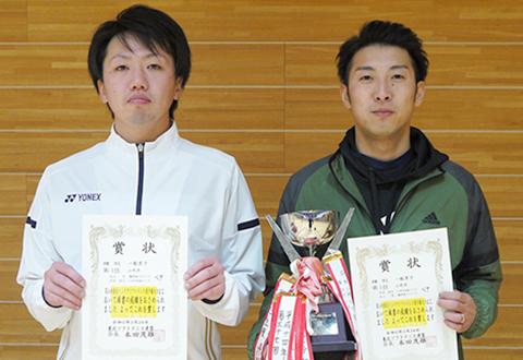 第54回東北インドアソフトテニス選手権大会の結果 一般男子優勝
