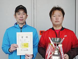 第55回東北インドアソフトテニス選手権大会の結果 35男子優勝