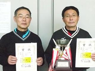 第55回東北インドアソフトテニス選手権大会の結果 シニア男子55優勝
