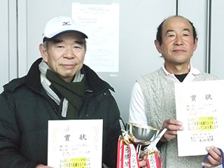 第55回東北インドアソフトテニス選手権大会の結果 45女子優勝