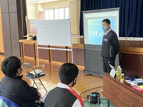 日本スポーツ協会公認コーチ1養成講習会の開催報告