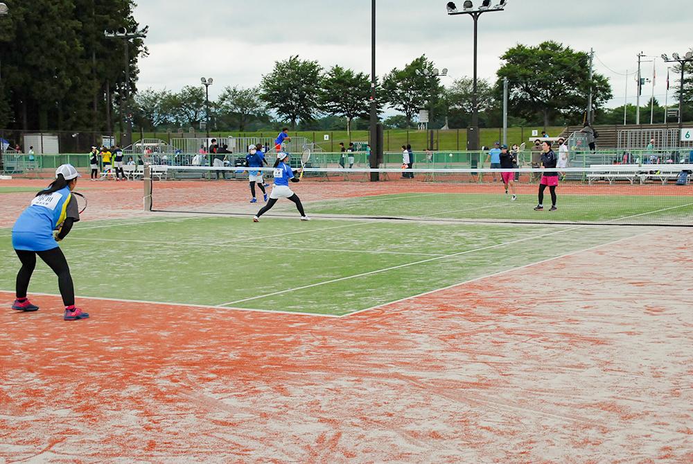 岩手県ソフトテニス選手権大会の結果